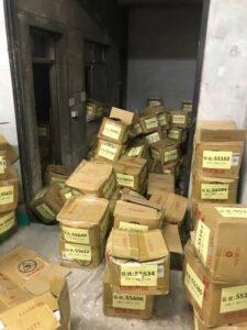 台北醫學大學庫房文件整理搬運善後清潔1