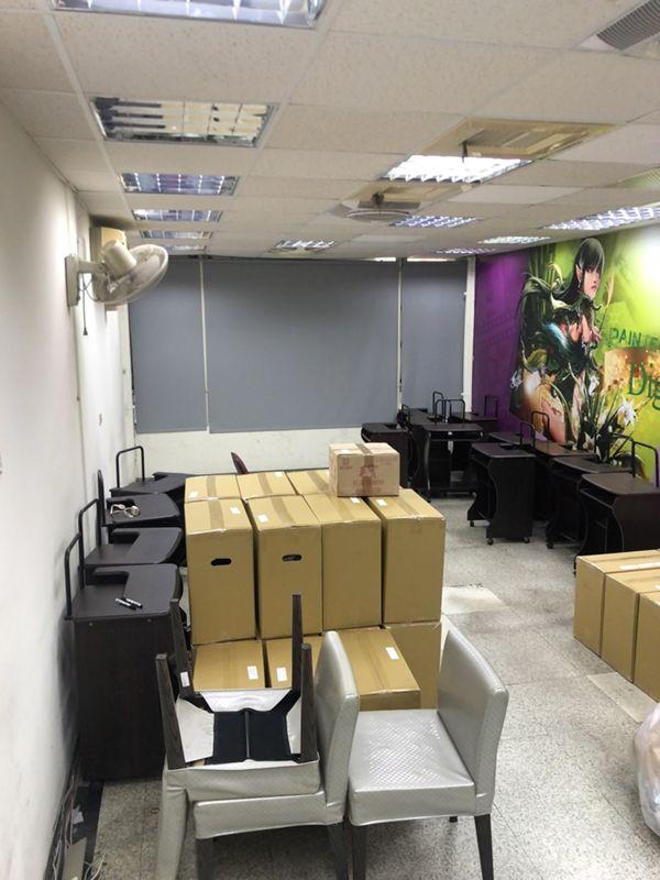 宜蘭市搬家案例.宜蘭巨匠電腦撤點,家俱物件等分別搬運至其他縣市據點2